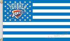 Oklahoma City Thunder 3x5 Feet Banner Flag Nba