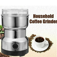 220V Electric Coffee Bean Grinder Stainless Steel Corn Wheat Spice Mill Blender