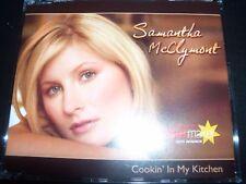 Samantha McClymont Cookin' In My Kitchen Australian CD Single – Like New