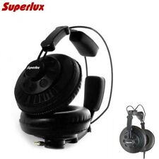 Superlux HD668B Studio Headphones Open Back DJ Wired Over Ear Dynamic Earphones