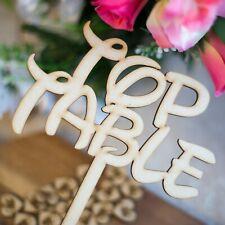 Freestanding Disney Wooden TOP TABLE Stand - Balloon Weights-Wedding-Craft MDF