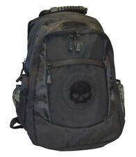 Harley-Davidson Men's Willie G. Skull Classic Backpack - Black BP1962S-Black