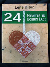 24 HEARTS in BOBBIN LACE by Lene Bjørn