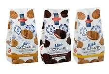 Daelmans Original Dutch Mini Stroopwafels Wafers Choice of 3 Flavors 7.04 Oz BAG