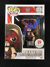 Kane WWE Signed Funko Pop Walgreens Exclusive Figure
