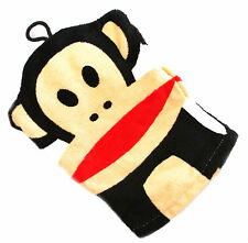 Paul Frank Julius Monkey Magic Bath Shower Terry Mitt Expands In Water Novelty