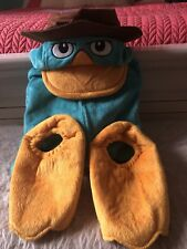 Disney Parks PERRY the PLATYPUS Phineas & Ferb AGENT P Costume XS