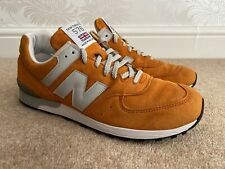 NEW BALANCE 576 - M576OO - MADE IN ENGLAND ORANGE & GREY - UK Size 9 RRP: £149