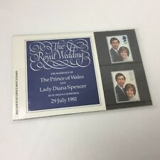 The Royal Wedding Prince Charles Princess Diana 1981 British Post Mint 4 Stamps