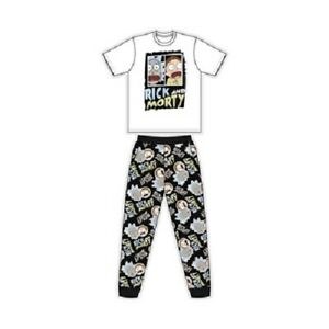 BNWT - Mens Official RICK AND MORTY pyjamas - Size S, M, L, XL