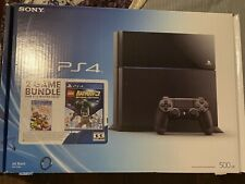 Sony PlayStation 4 Console 500GB , PS4 Camera & 4 Games
