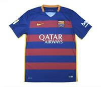 Barcelona 2015-16 Authentic Home Shirt (Excellent) M Soccer Jersey