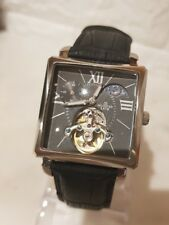 reloj automatico minister, diseño lunar fases