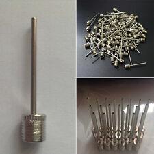 10PCS Football Inflating Gas Air Needle Head Pin Gym Soccer Basketball Pump Tool