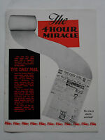 The 4 Hour Miracle - A Hull Daily Mail  publication from 1954