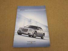2008 Chrysler 300 Limited SRT8 Touring 300C sales brochure dealer literature