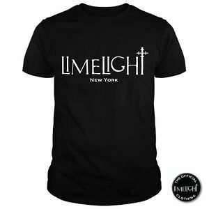 The Official License Limelight Nightclub Black T Shirt