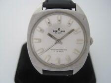 Breitling Vintage 1960's Stainless Steel Manual Wind Watch