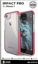 x-doria Impact Pro protective case for Apple iPhone 7, 8, SE2 - Pink / Clear