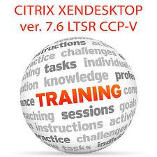 Citrix xendesktop 7.6 LTSR CCP-V-formazione VIDEO TUTORIAL DVD