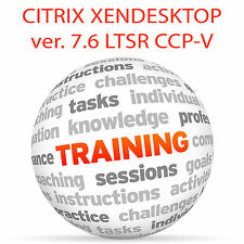 Citrix XenDesktop 7.6 ltsr PCC-V-Video Training Tutorial DVD