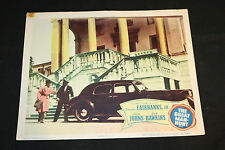 1950 The Great Man-Hunt Lobby Card 50/480 Jack Hawkins Glynnis Johns (C-5)