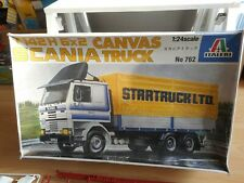 Modelkit Italeri Scania T142 H 6x2 Canvas Truck on 1:24 in Box