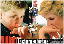 Coupure de presse Clipping 2002 (4 pages) Prince William...charme en heritage