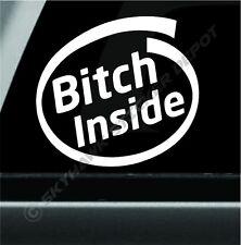 Bitch Inside Bumper Sticker Vinyl Decal Novelty Sticker Dog Car Sticker For Jeep