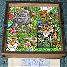 ZIPPO LIMITED EDITION Lighter 25TH Anniv. MYSTERIES OF THE FOREST 49347 Numbered