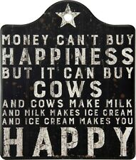 Primitives by Kathy Trivet, Buy Happiness But It Can Buy Cows