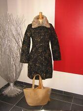 Manteau bleu marine et noir