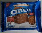NEW 2021 Nabisco Oreo Gingerbread Flavored Creme Sandwich Cookies FREE SHIPPING
