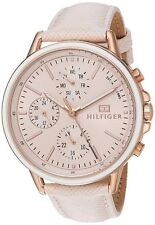 Tommy Hilfiger Original 1781789 Women's Cream Leather Watch 40mm