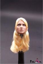 "1:6 Scale F001 Female Head Sculpt Accessory F 12"" ZY Toys Phicen Action Figure"