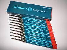 10x Kugelschreibermine Express 75 M BLAU Metallmine Schneider Sparpack