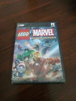 LEGO Marvel Super Heroes (PC DVD-Rom, 2013) 100+ Characters Rated E 10+ NIP