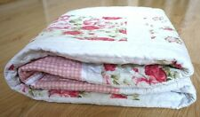 New Patchwork Pattern Reversable Cotton Blanket Quilted Throw Coverlet 1.5mx1.5m