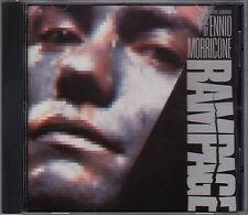Rampage - Soundtrack - CD Ennio Morricone (Virgin CDV2491 U.S.A.)