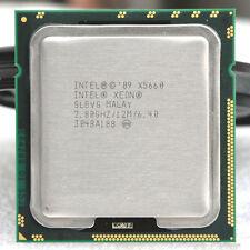 Xeon X5660 12M 2,8Ghz/Turbo 3,2Ghz - 6cores/12 Threads