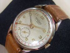 VINTAGE 40'S SWISS GP SULLY WATCH POINTER DATE CALENDAR MANUAL             *6185