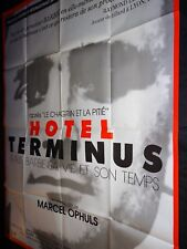 HOTEL TERMINUS : KLAUS BARBIE  HIS LIFE AN OPHULS - DOCUMENTAIRE affiche cinema