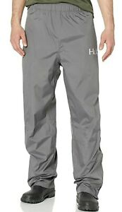 HUK Performance Large Fishing Mens Packable Pants Charcoal Gray New NWT