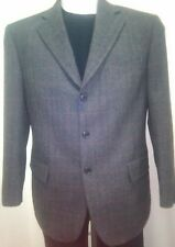 GIACCA UOMO INVERNALE GRIGIO 100%WOOL TOM BEST TG 46
