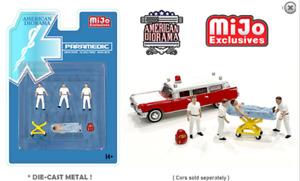 American Diorama Paramedic Figures Set Limited edition 76467 1/64