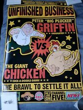 Family Guy Peter vs The Giant Chicken Fight Poster