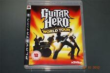 Guitar Hero World Tour PS3 Playstation 3 ** ** GRATIS UK FRANQUEO