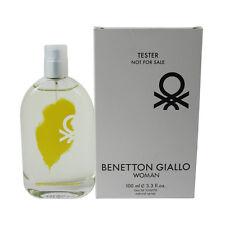 Giallo by Benetton for Women EDT Perfume Spray 3.3 oz.Tester NEW
