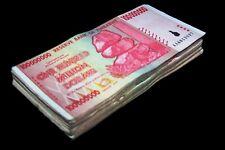 20 x Zimbabwe 100 Million Dollar banknotes-1/5 currency bundle
