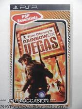 OCCASION: Jeu TOM CLANCY'S RAINBOW SIX VEGAS playstation PSP sony game francais